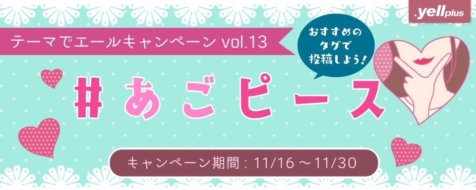 テーマでエールキャンペーン vol.13